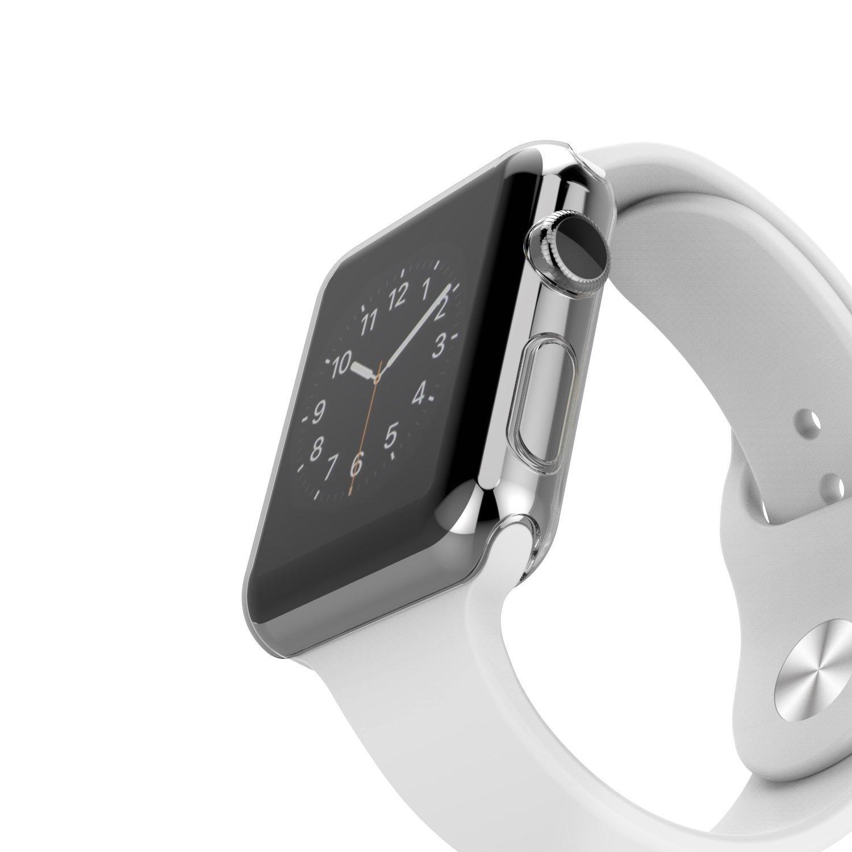 apple watch schutzh lle 38mm iwatch rundum display cover. Black Bedroom Furniture Sets. Home Design Ideas
